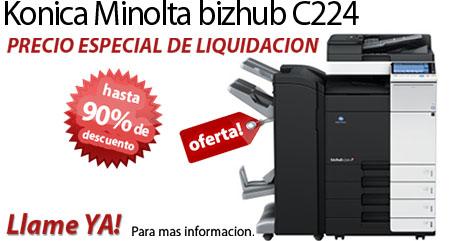 Comprar una Konica Minolta bizhub C224