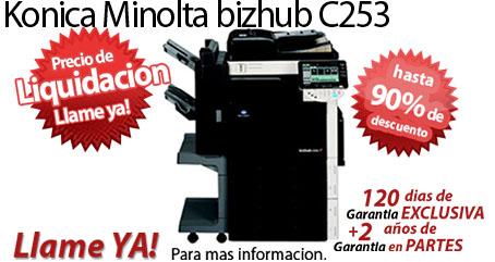 Comprar una Konica Minolta bizhub C253
