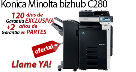 Comprar una Konica Minolta bizhub C280