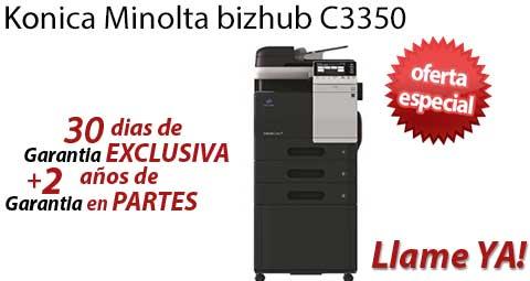 Comprar una Konica Minolta bizhub C3350