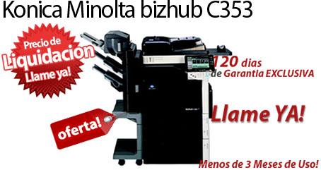 Comprar una Konica Minolta bizhub C353