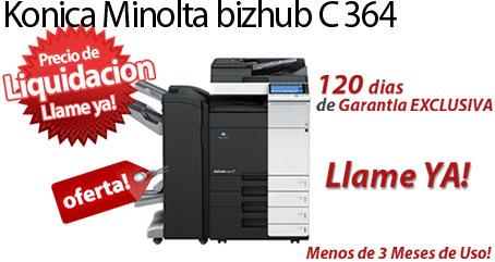 Comprar una Konica Minolta bizhub C364