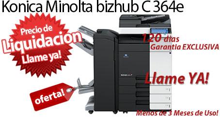 Comprar una Konica Minolta bizhub C364e