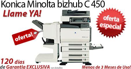 Comprar una Konica Minolta bizhub C450