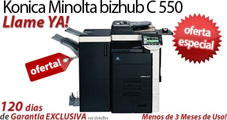 Comprar una Konica Minolta bizhub C550