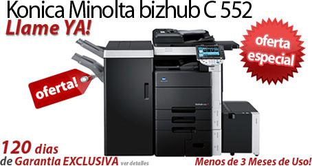 Comprar una Konica Minolta bizhub C552
