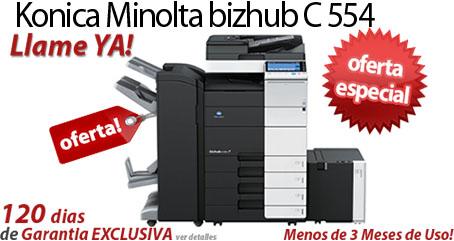 Comprar una Konica Minolta bizhub C554