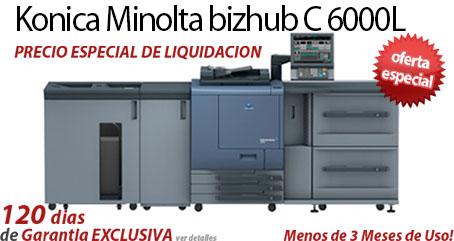 Comprar una Konica Minolta bizhub PRO C6000L