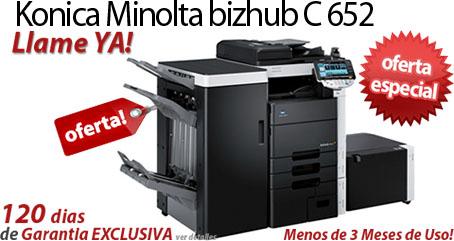 Comprar una Konica Minolta bizhub C652