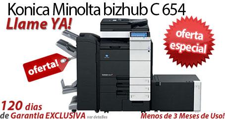 Comprar una Konica Minolta bizhub C654