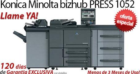 Comprar una Konica Minolta bizhub PRESS 1052