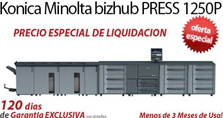 Comprar una Konica Minolta bizhub PRESS 1250P