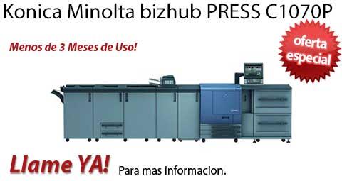 Comprar una Konica Minolta bizhub PRESS C1070P