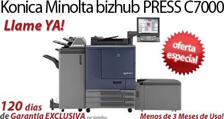 Comprar una Konica Minolta bizhub PRESS C7000
