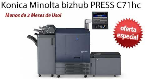 Comprar una Konica Minolta bizhub PRESS C71hc