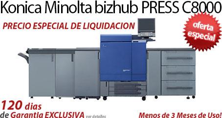 Comprar una Konica Minolta bizhub PRESS C8000