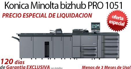 Comprar una Konica Minolta bizhub PRO 1051