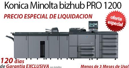 Comprar una Konica Minolta bizhub PRO 1200