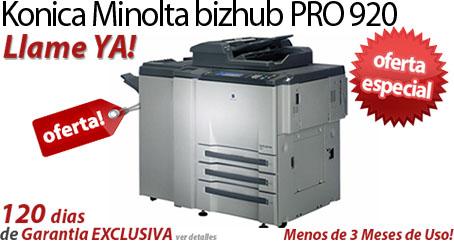 Comprar una Konica Minolta bizhub PRO 920