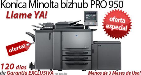 Comprar una Konica Minolta bizhub PRO 950