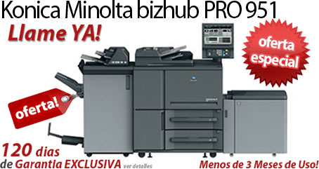 Comprar una Konica Minolta bizhub PRO 951