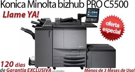 Comprar una Konica Minolta bizhub PRO C5500