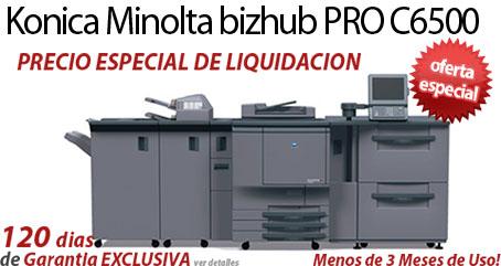 Comprar una Konica Minolta bizhub PRO C6500
