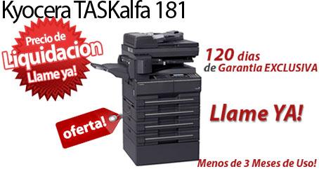 Comprar una Kyocera TASKalfa 181