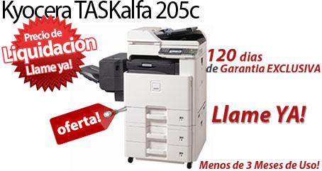 Comprar una Kyocera TASKalfa 205c