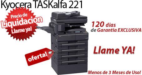 Comprar una Kyocera TASKalfa 221