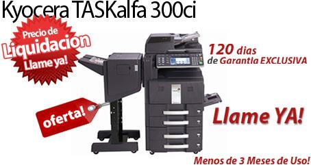 Comprar una Kyocera TASKalfa 300ci