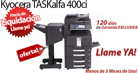 Comprar una Kyocera TASKalfa 400ci