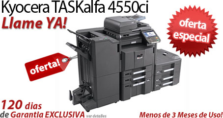 Comprar una Kyocera TASKalfa 4550ci