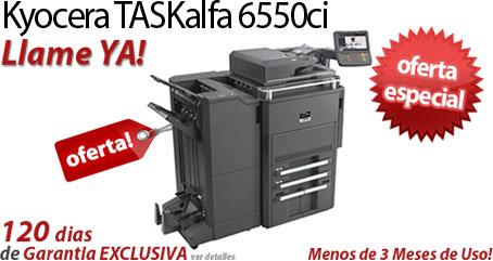 Comprar una Kyocera TASKalfa 6550ci