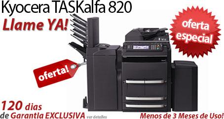 Comprar una Kyocera TASKalfa 820