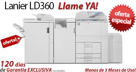 Comprar una Lanier LD360