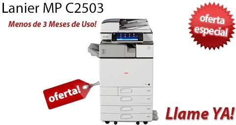 Comprar una Lanier MP C2503
