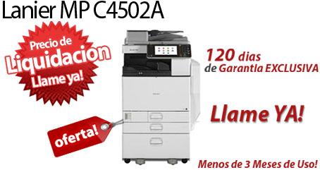 Comprar una Lanier MP C4502A