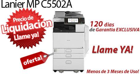 Comprar una Lanier MP C5502A