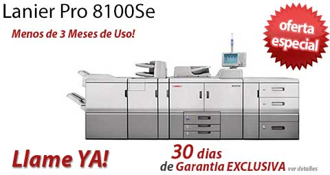 Comprar una Lanier Pro 8100Se