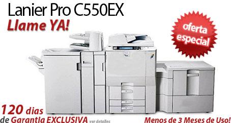 Comprar una Lanier Pro C550EX
