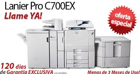 Comprar una Lanier Pro C700EX