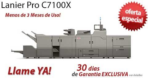Comprar una Lanier Pro C7100X