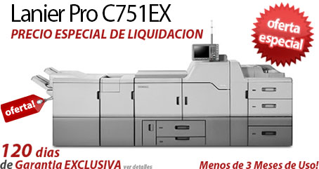 Comprar una Lanier Pro C751EX