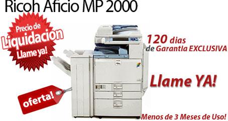 Comprar una Ricoh Aficio MP 2000