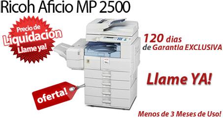 Comprar una Ricoh Aficio MP 2500