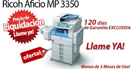 Comprar una Ricoh Aficio MP 3350B