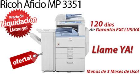 Comprar una Ricoh Aficio MP 3351