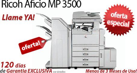 Comprar una Ricoh Aficio MP 3500