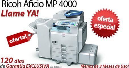 Comprar una Ricoh Aficio MP 4000B